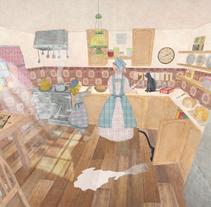 In the Grandma´s Kitchen. Un proyecto de Diseño e Ilustración de Sergio  G. Sanz         - 14.01.2013