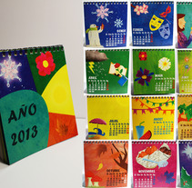 Calendarios. A Design, Illustration, and Advertising project by Helena Frías Peña - 01.21.2013