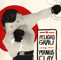 mr. peligro grau. A Design, Illustration, and Advertising project by Laia Jou         - 23.01.2013