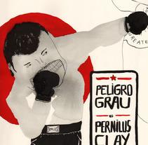 mr. peligro grau. Un proyecto de Diseño, Ilustración y Publicidad de Laia Jou - 23-01-2013