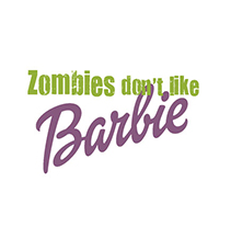 Zombies don't like Barbie. A Illustration project by Rafa Sánchez Gil         - 30.01.2013