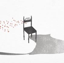 El ruiseñor y la rosa. A Illustration project by Raquel L.         - 04.02.2013