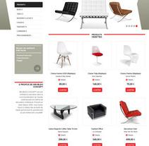 Meubles Concept. Un proyecto de Diseño y Desarrollo de software de La Teva Web Diseño Web  - Martes, 05 de febrero de 2013 12:47:54 +0100