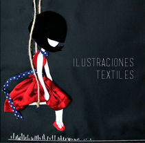 Ilustraciones textiles. A Design, Illustration, and Photograph project by mamen lópez - 16-02-2013