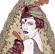 Mödernaked Tee Collection. Un proyecto de Diseño e Ilustración de Lola Beltrán         - 18.02.2013