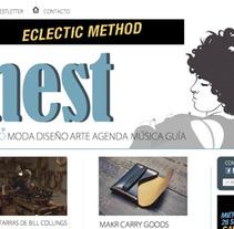 Web Nest Madrid. Um projeto de Design de Nerea Cordero         - 19.02.2013