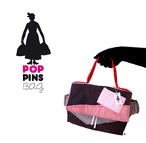 """Poppins Bag"" Diseño de marca y producto. A Design, Illustration, and Photograph project by mamen lópez - 19-02-2013"
