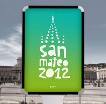 San Mateo 2012 (Propuesta). Un proyecto de Diseño de Adrián Heras Pozo         - 31.03.2013