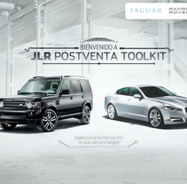 /// JAGUAR / RANGE ROVER /// Postventa. A Art Direction project by Nacho Gallego         - 16.03.2014