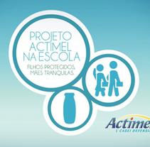 Proyecto Actimel en las Esculeas. A Advertising project by Paula  Maia Carro         - 04.03.2013