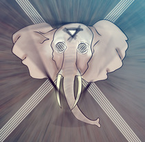 Elefant.. A Design&Illustration project by Ivan Rivera         - 08.03.2013
