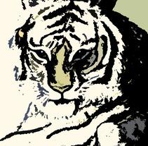 Tigre. Um projeto de Design e Ilustração de Elia Amador Godínez         - 09.03.2013
