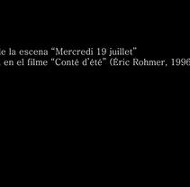 miércoles 19 de julio. A Film, Video, and TV project by Carles Guardiola Escrihuela - 11-03-2013