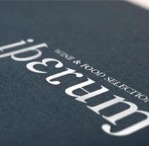 I. Corporativa para IBERUM WINE & FOOD SELECTION. A Design project by Omnimusa Diseño y Comunicación         - 13.03.2013