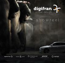 Showreel 3D. Um projeto de Ilustração, Publicidade, Motion Graphics, Cinema, Vídeo e TV e 3D de Fran Pérez         - 22.03.2013