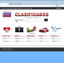 Clasificados: Programación sitio web.. Un proyecto de Diseño y Desarrollo de software de Alexander          - 23.03.2013