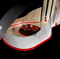 Stand Presentación de Coches. A Design project by David         - 28.03.2013