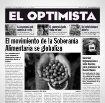 Portada Periódico. A Design project by Marcelo Garolla Artuso         - 01.04.2013