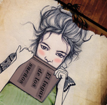 El lugar de los sueños. A Illustration project by Natalia Vera          - 02.04.2013