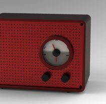 Ambientador radio. A Design, UI / UX, and 3D project by Carolina Ensa - 19-04-2013