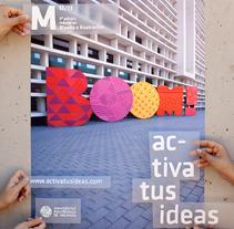 Campaña 3ª Edición Máster en Diseño e Ilustración. Un proyecto de Diseño y UI / UX de Alicia Raya - 19-04-2013