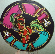 """Desmenuzadico"". A Design, Illustration, Installations, and Photograph project by ZANART - 19-04-2013"