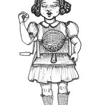 Te daré una piedrecita blanca. Un proyecto de Ilustración de Elena López Macías - 22-04-2013