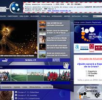 Web de la Federación de Fútbol de la Comunidad Valenciana. Un proyecto de Desarrollo de software de Daniel F. R. Gordillo         - 01.05.2013