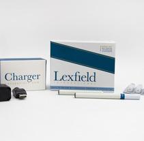 Lexfield e-cigarettes. A Design project by Mara Rodríguez Rodríguez - 06-05-2013