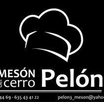"""Tarjeta personal """"Meson del cerro Pelón 3"""". Un proyecto de Diseño e Ilustración de Francisco Javier López Bonilla         - 13.05.2013"""
