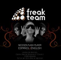 web Freak Team. Um projeto de Design e Desenvolvimento de software de David del Prado Martínez         - 28.05.2013