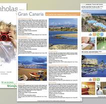 DTP | Viagens El Corte Inglés. A Design project by Santiago Avilés - 04-06-2013