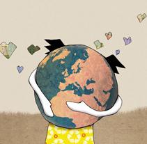 Guía de reciclaje para niños. A Design&Illustration project by Se ha ido ya mamá  - Jun 11 2013 11:40 AM
