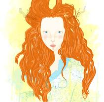 It Girl. Un proyecto de Ilustración de Maria Angélica Castillo Olmos         - 19.06.2013