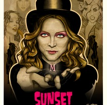 Sunset of the queen. Um projeto de Design e Ilustração de Fernando Fernández Torres         - 21.06.2013