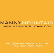 Manny Mountain. A Design, and Advertising project by Carlos Cano Santos - 26-06-2013