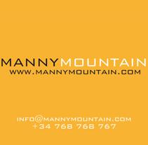Manny Mountain. Un proyecto de Publicidad y Diseño de Carlos Cano Santos - Miércoles, 26 de junio de 2013 15:20:53 +0200