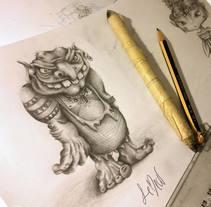 Ilustración y Pintura. A Illustration project by Ana Palma         - 30.06.2013