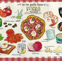 Cómics que se comen. Un proyecto de Ilustración de Toño Domínguez - Viernes, 05 de julio de 2013 19:21:01 +0200