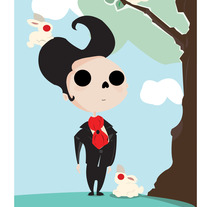 En el campo. A Illustration project by Nexxxa Fernandez - Jul 15 2013 08:44 PM