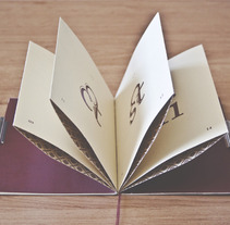LIGATURES · TYPE NOTES. Un proyecto de Diseño de carla cobas - 23-07-2013