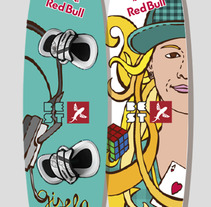 Kitesurf Board. A Design, Illustration, and UI / UX project by carmen  sarrión blasco - 29-07-2013