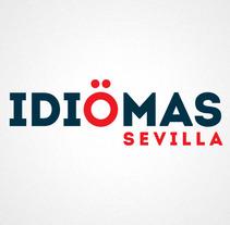 Identidad corporativa Idiomas Sevilla. Un proyecto de Diseño de Jose Mª Quirós Espigares - 18-08-2013