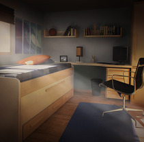 Interior I. A UI / UX, and 3D project by Carlos Milanes         - 11.09.2013