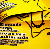 Amnesty International. A  project by Sergio Sánchez Martín         - 12.09.2013