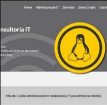 Web Gnubit. Um projeto de Design e Web design de Nerea Gutiérrez         - 21.12.2012