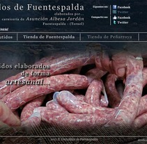 Embutidos de Fuentespalda. A IT project by Xavi Agut Carbó         - 18.09.2013