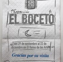Exposición el Boceto. A Design, and Advertising project by Alexander Caro         - 28.09.2013