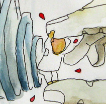 Para Shirley. A Illustration project by carmen esperón - Oct 07 2013 03:53 PM