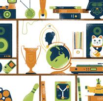 Dot Magazine. Un proyecto de Diseño e Ilustración de David Sierra Martínez - 08-10-2013